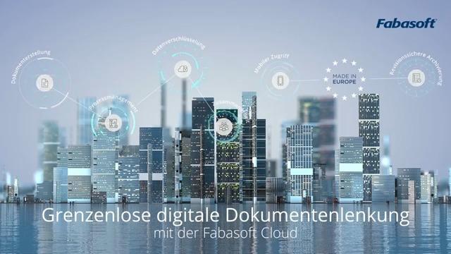 Digitale Dokumentenlenkung mit der Fabasoft Business Process Cloud
