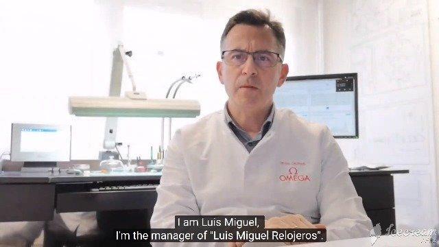 Testimonial Luis Miguez - Watchmaker