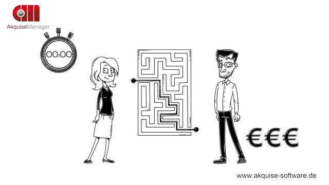 Finden Sie den Weg zum Vertragsabschluß?