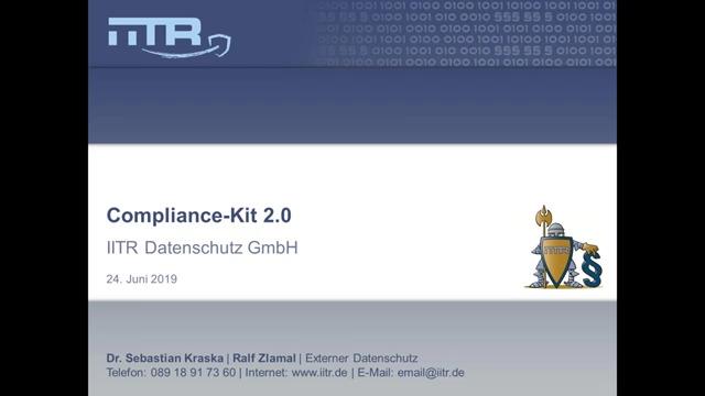 Compliance-Kit 2.0 – Datenschutz-Management-System für die EU-Datenschutzgrundverordnung (EU-DSGVO).