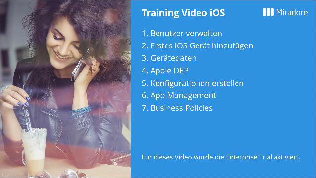 Miradore Online MDM/EMM - Verwaltung von iOS Geräten