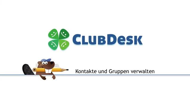 ClubDesk Vereinssoftware - Mitglieder verwalten