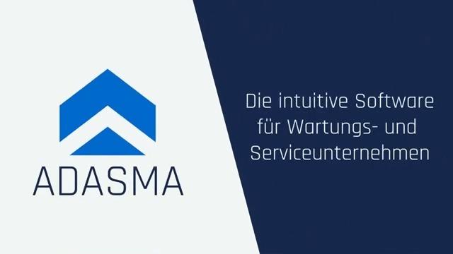 ADASMA | Die intuitive Software für Wartungs- und Serviceunternehmen