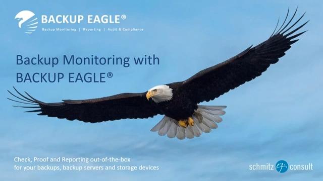 Backup Monitoring with BACKUP EAGLE®