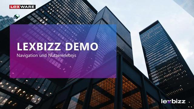 lexbizz XRP - Einführung und Navigation
