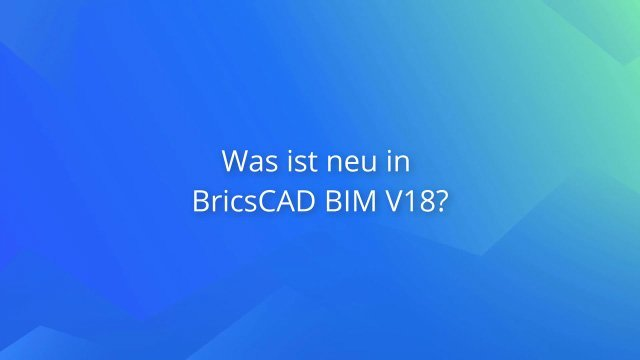 2. Produktvideo BricsCAD® CAD Software