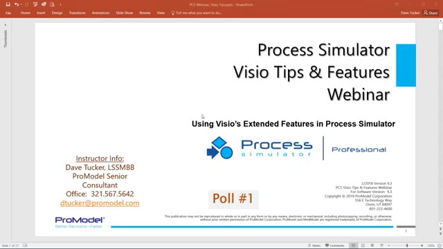 Process Simulator Visio Tips and Features