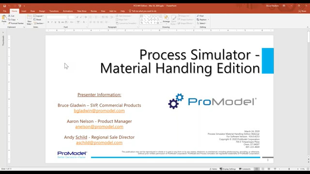Introducing Process Simulator Material Handling Edition