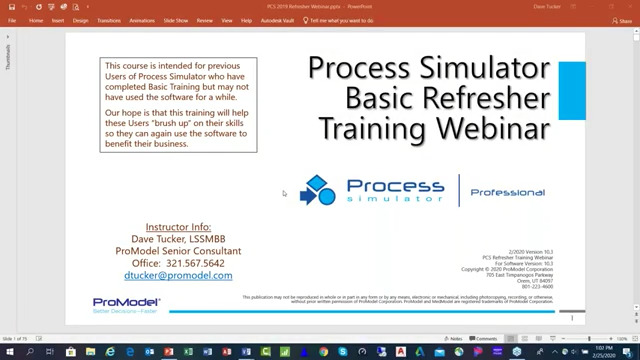Process Simulator Basic Training