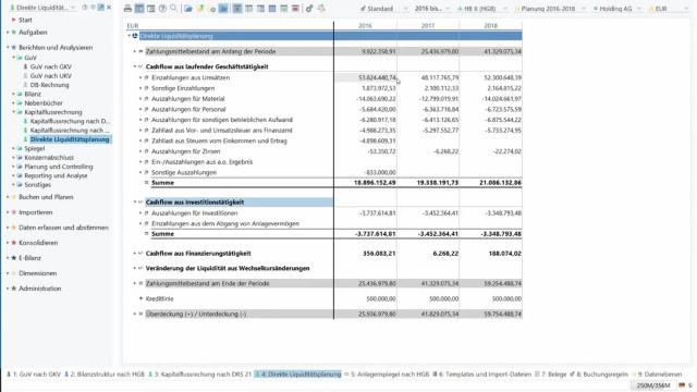 Darlehensplanung mittels integrierter App