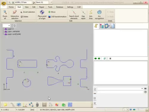 Modul zur 4-Achsen-Simultanbearbeitung für die Rohrbearbeitung