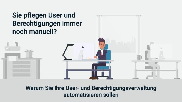 Ab sofort keine aufwändige manuelle Verwaltung von Useraccounts mehr!
