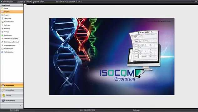 ISOCOM Evolution - Die Software für den Isolierer