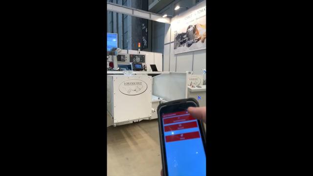 Logistiksteuerung mit MIR-Serviceroboter an einer Drehmaschine mit Vollautomatisierung