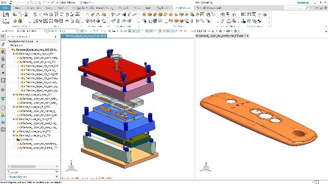 NX Mold Designer