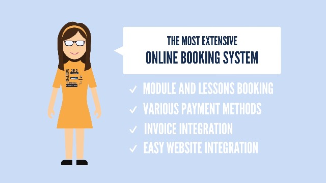 Sophie presents the most comprehensive booking system edoobox