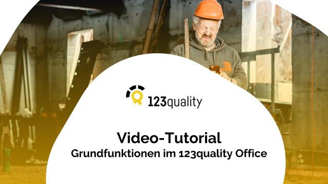 Grundfunktionen Office-Anwendung für den Bau