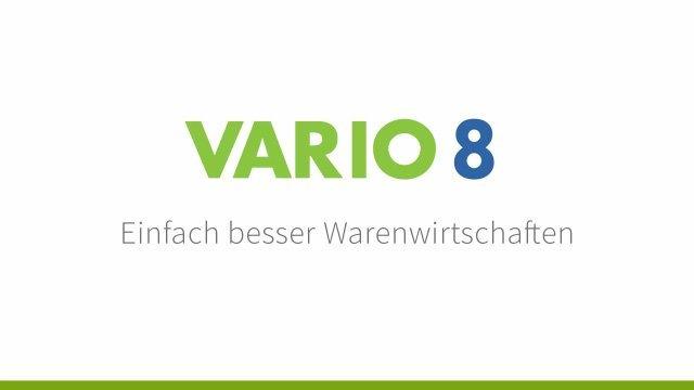 1. Produkvideo VARIO 8 Warenwirtschaft, ERP Software, E-Commerce, Onlinehandel