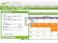 Produktvideo ZEP - Zeiterfassung f�r Projekte