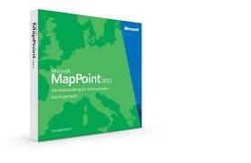 MapPoint 2013 Europakarten