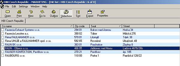 Software: Czech Republic Business Directory - Major