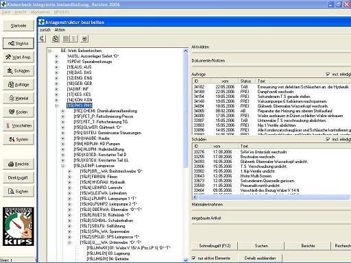 Produktbild KIPS - Software f�r die Instandhaltung