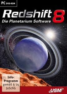 Redshift 8 - Die Planetarium Software